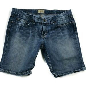 BKE Buckle Womens 31 Blue Jean Shorts